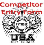 Entry Form 2014 NPC WA State Open Bodybuilding Figure Fitness Bikini Physique Championship